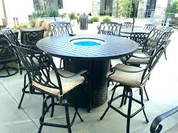 counter height outdoor table sets dining set bistro marvelous patio o bar pictures gallery of dark brown wicker 7 piece