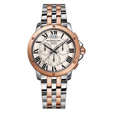raymond weil tango rose gold plated and stainless steel raymond weil tango rose gold plated and stainless steel chronograph men s watch