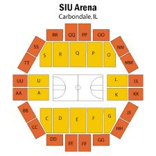 Illinois Basketball Seating Chart Tickets Northern Iowa Panthers Mens Basketball At Southern