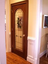 Wine Cellar Stained Glass Door