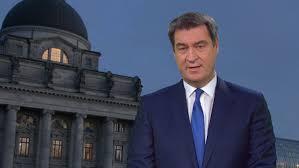 Cabinet söder is the name of any of two cabinets in the german state of bavaria led by markus söder: Neujahrsansprache Soder Stimmt Bayern Auf Schweres Jahr Ein Br24