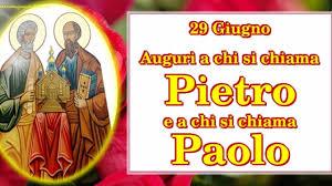 29 Giugno, domani è festa di San Pietro e Paolo al tempo del Coronavirus:  ecco le FRASI per gli auguri di buon onomastico su Facebook e WhatsApp