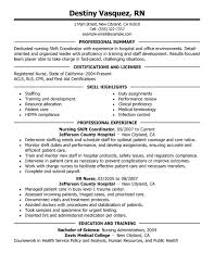 Shift Coordinator Resume Sample