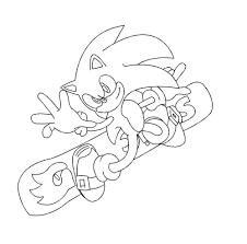 Jeux De Sonic Coloriage