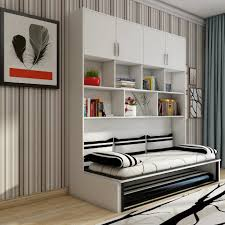 Design Folding Bed Hot Item High Quality Folding Wallbed Hidden Wall Bed Murphy Bed With Sofa Bed Modern Design