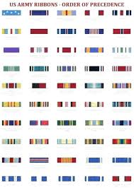 Navy Order Of Precedence Chart Military Decorations Us