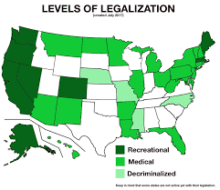 Highest Legalization Marijuana Dataisbeautiful State Of Level oc Each For