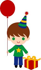 boy birthday clip art.  Boy And Boy Birthday Clip Art 4