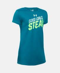 under armour shirts for girls. girls\u0027 ua girls steal bases t-shirt 1 color $16.99 under armour shirts for u