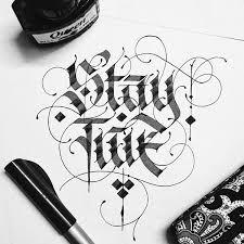 vietnam calligraphy typostrate