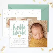 Baby Boy Announcements Templates 24 Best Birth Announcements Images On Pinterest Baby Announcements
