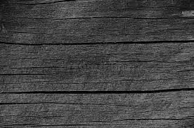Wooden Plank Board Grey Black Wood Tar Paint Texture Detail Large