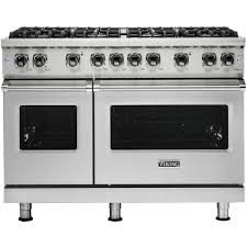 Viking  Professional 5 Series 61 Cu Ft Freestanding Double Oven Gas Convection Range