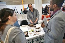 berkshire career fair looking for the right match the george moran director of human resources at berkshire children and families talks brandon hurst