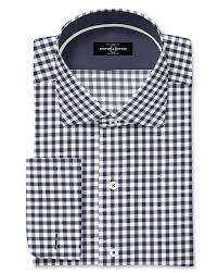 Chex Shirt Design Pure Egyptian Cotton Black Check Shirt F 17 0686