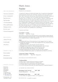 Sample Resume Of Teacher Sample Resume For Teachers Assistant Resume ...