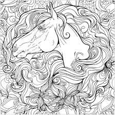 Cavalli 18193 Cavalli Disegni Da Colorare Per Adulti Con Immagini