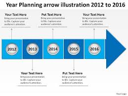 5 year timeline template product roadmap timeline year planning arrow illustration 2012 to