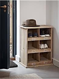 small wooden box unit