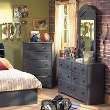 Beautiful South Shore Summer Breeze Blue Twin 3 Piece Captain Bedroom Set