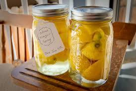 In The Kitchen: lemons. Lemon Infused Vinegar