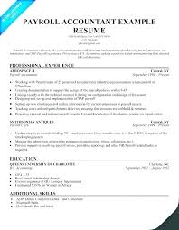 Resume Examples 2016 Cool Accounting Resume Examples 60 Accountant Samples Sample Of Resumes