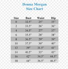 Donna Morgan Size Chart Donna Morgan Size Chart Made Done