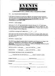 chicago roofing contractors association complimentary labor exchange form