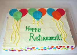 Cake Ideas For Retirement Kidsbirthdaycakewithyeargq