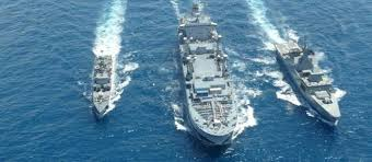 ins china indian ships maritime exercise with us in scs matter of concern