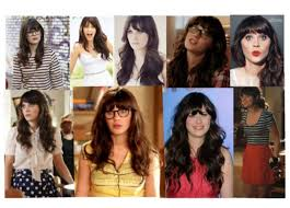 elle sees beauty ger in atlanta how to zooey deschanel makeup hair outfit