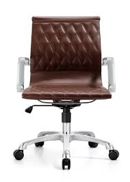 brown leather office chair.  Leather Unique Brown Leather Office Chair With Chrome Frame From The Woodstock  Marketing Annie Series Intended B