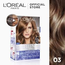 Loreal Light Brown Excellence Fashion Ultra Lights Hair Color 03 Ash Brown Worlds No 1 By Loreal Paris W Protective Serum Conditioner