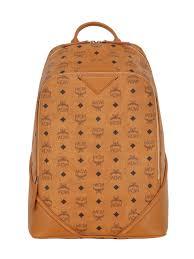 Designer Mcm Meaning Mcm Bag New York Mcm Medium Duke Faux Leather Backpack Tan