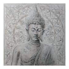 hometrends buddha canvas wall art
