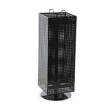 countertop eyeglass pegboard spinner display rack for s
