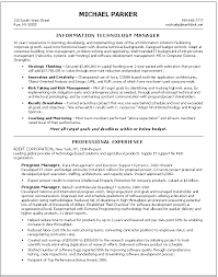 Information technology resume examples to inspire you how to create a good  resume 20