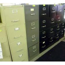 100s of 4 drawer file cabinets