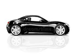 sport car white background