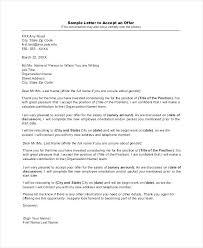 Mortgage Offer Letter Template Written Job Sample Acceptance