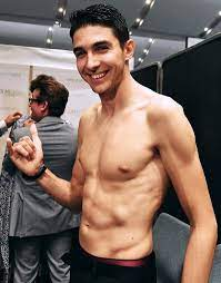 I can't tell if Esteban Ocon is really ripped or just really thin: formula1
