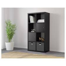 Expedit Room Divider kallax shelf unit blackbrown ikea 4206 by uwakikaiketsu.us