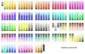 C Color Chart Pantone C Colour Chart