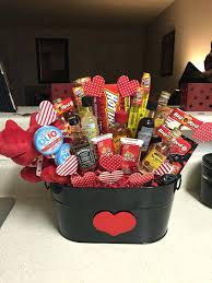 valentines day basket for him homemade valentines day basket for ideas