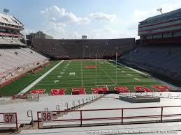 Haymarket Park Lincoln Ne Seating Chart Nebraska Memorial Stadium View From Endzone 36c Vivid Seats