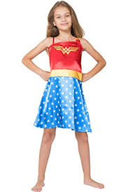 Wonder Woman Costume Pattern Stunning Amazon DC Comics Little Girls' Wonder Woman Costume Pajama