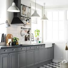 ikea kitchen lighting ideas. kitchen cabinets design ikea interior admirable decoration idea with gray cabinet white pendant lights and black plaid floor tile lighting ideas