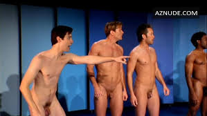 Naked boys singing gay