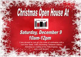 christmas open house flyer christmas open house flyer