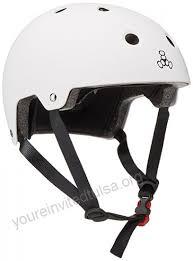 Triple 8 Brainsaver Size Chart Triple 8 Brainsaver Glossy Helmet With Standard Liner White